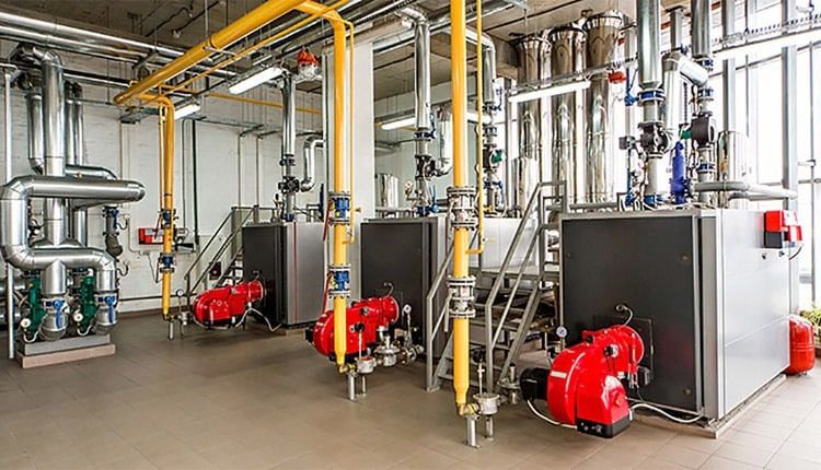 معاينه فني و تعمیر موتورخانه ساختمان