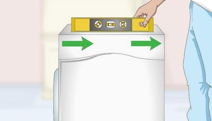 تراز کردن ماشین لباسشویی