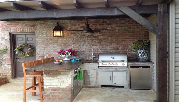 تبدیل حیات خلوت به آشپزخانه