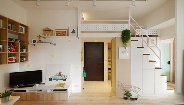 بازسازی آپارتمانهای کوچک