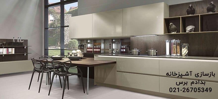 مدل کابینت آشپزخانه ترکیهای