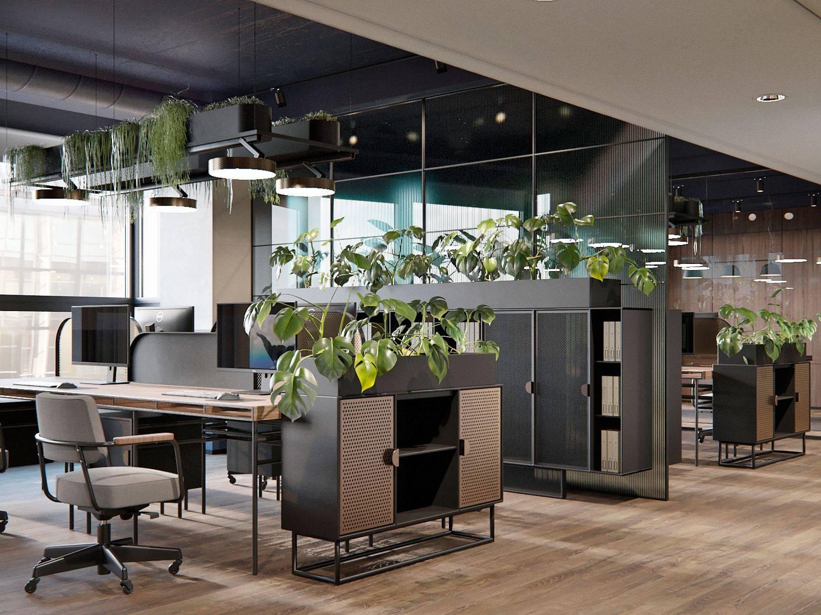 طراحی داخلی اداری چگونه است؟