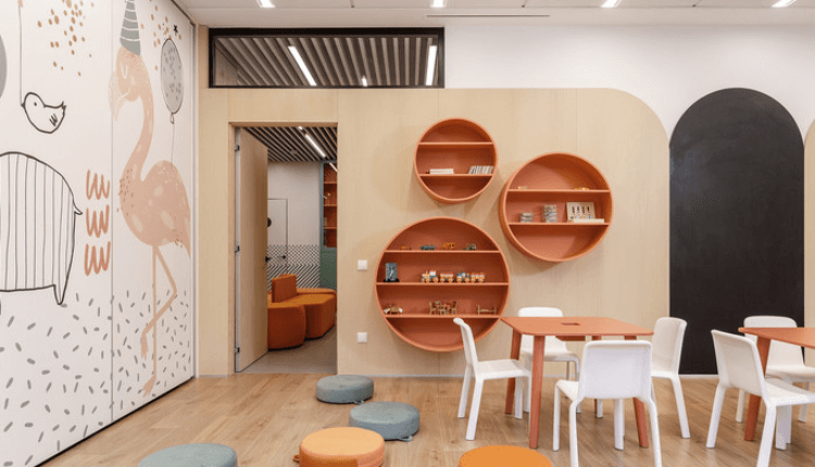 نکات مهم طراحی مطب کودکان